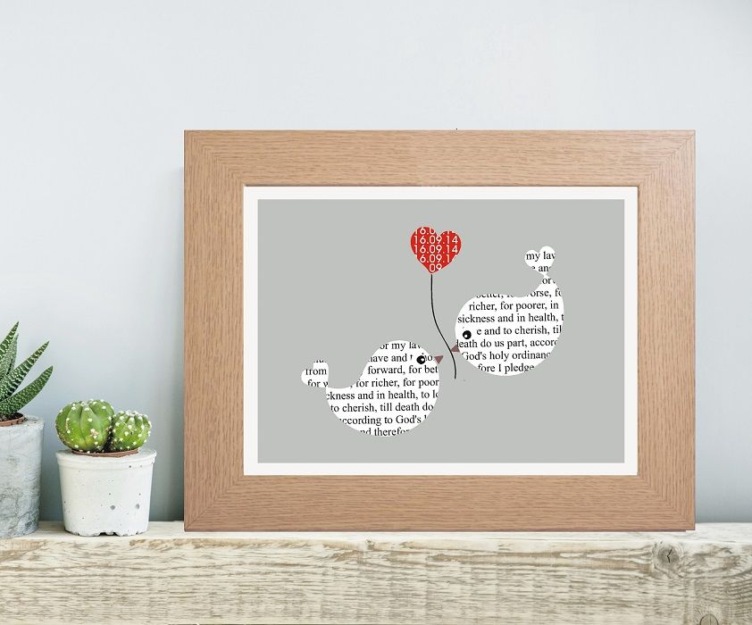 Wedding Vows Invitations - Personalised with Your Wedding Venue ...
